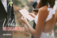 Votos no Casamento
