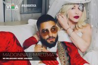 Madonna e Maluma no Billboard Music Awards