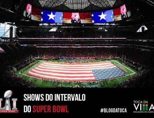 Shows do intervalo do Super Bowl