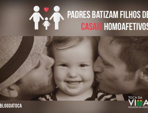 Padres batizam filhos de Casais Homoafetivos