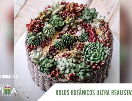 Bolos Botânicos ultra realistas