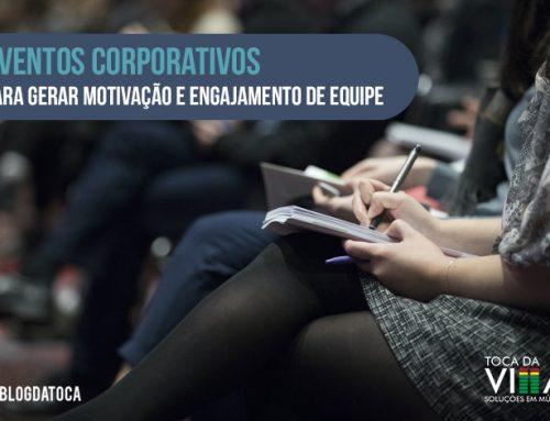 Eventos corporativos para gerar motivação e engajamento de equipe