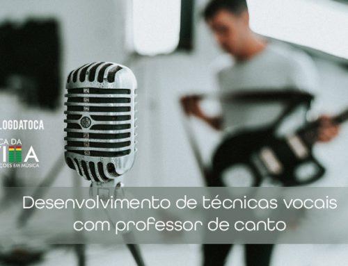 Desenvolvimento de técnicas vocais com professor de canto