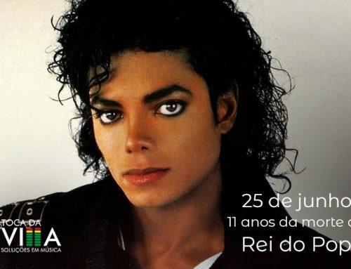 25 de junho: 11 anos da morte do Rei do Pop