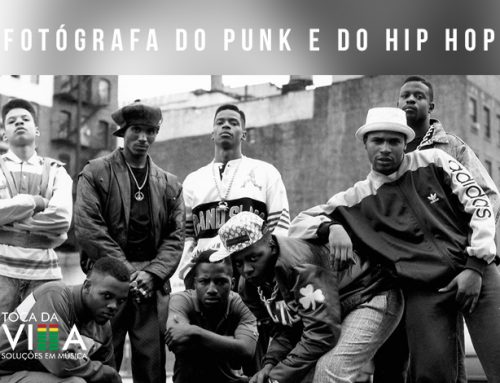 Fotógrafa do Punk e do Hip-Hop