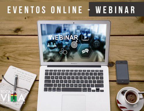 Eventos Online – Webinar