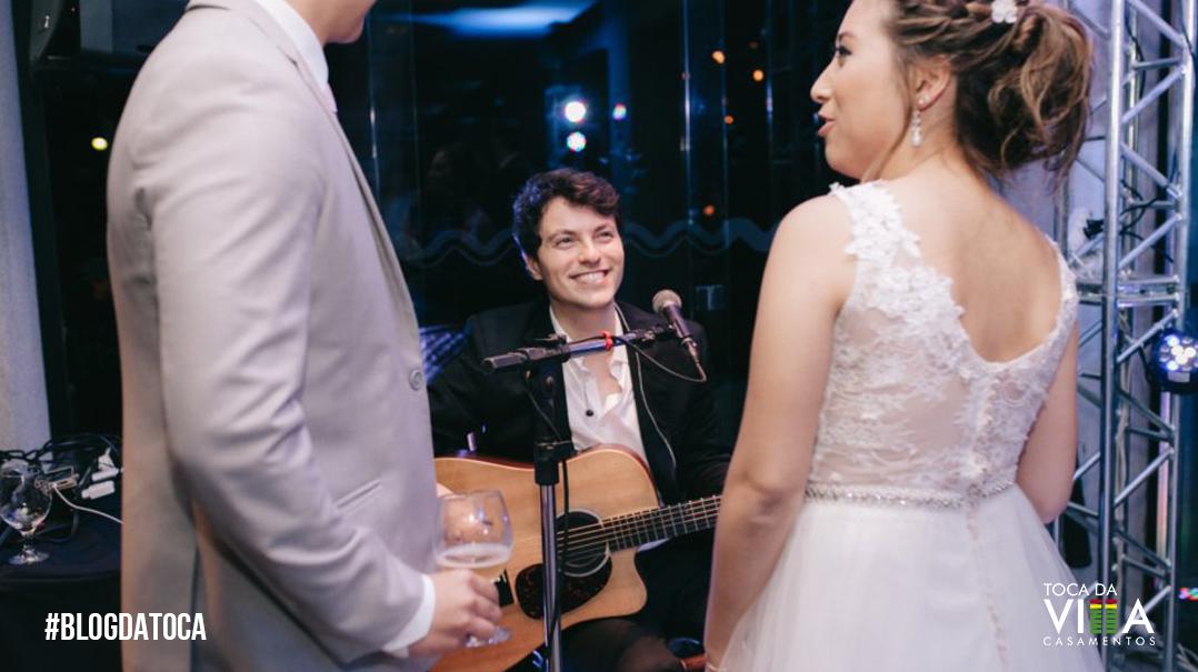 Acustico Coquetel Casamento