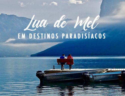Lua de Mel em destinos paradisíacos