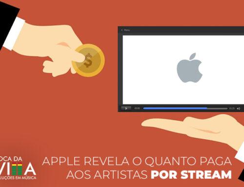 Apple revela o quanto paga aos artistas por stream