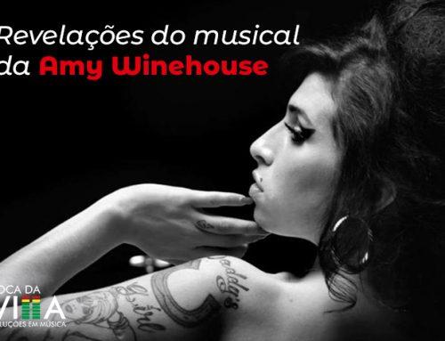Revelações do musical da Amy Winehouse